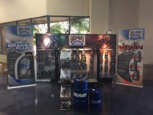 Parts Unlimited Supershowcase Show Set-up