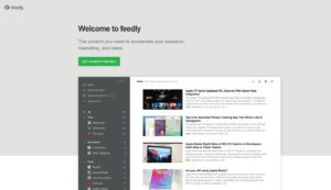 Recommended Resource – Feedly Feed Reader