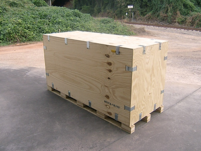 motorcycle crate