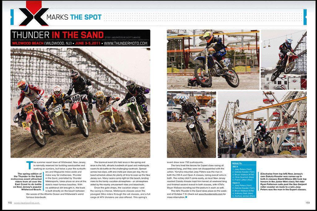 thunder in the sand - racerx 2011