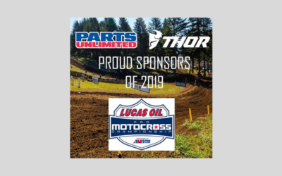 Parts Unlimited announced their official sponsorship of the 2019 Lucas Oil Pro Motocross Championship Series.