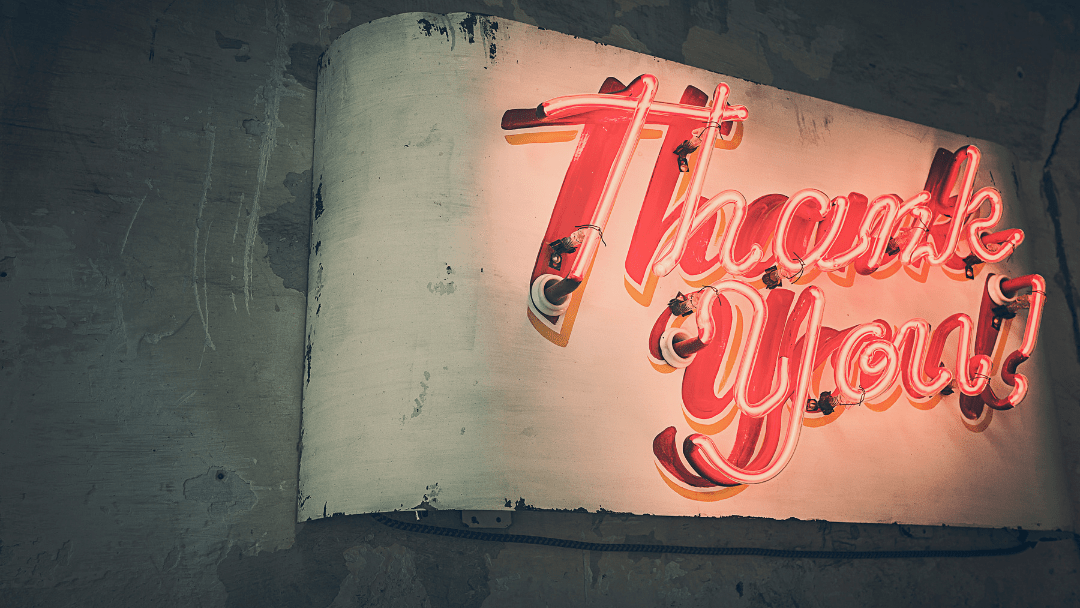 Racer Marketing – Saying Thank You